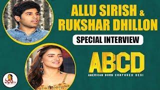 ABCD Movie Team Allu Sirish & Rukshar Dhillon Special Interview | Vanitha TV