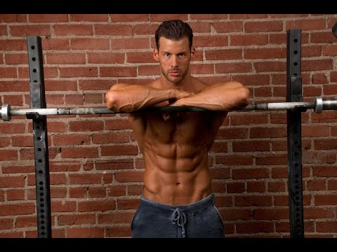 Six Pack Abs Workout - Fitness Model Justin Woltering