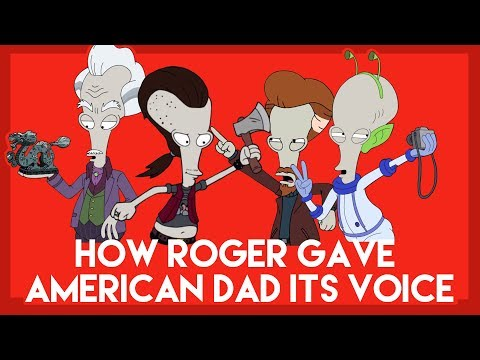 How Roger Gave American Dad Its Voice