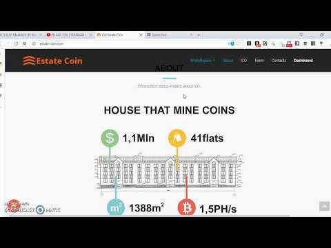 estatecoin: combining homes with mining