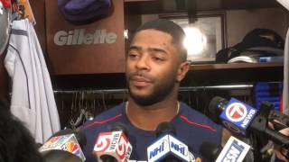Malcolm Butler talks about matching up with Antonio Brown