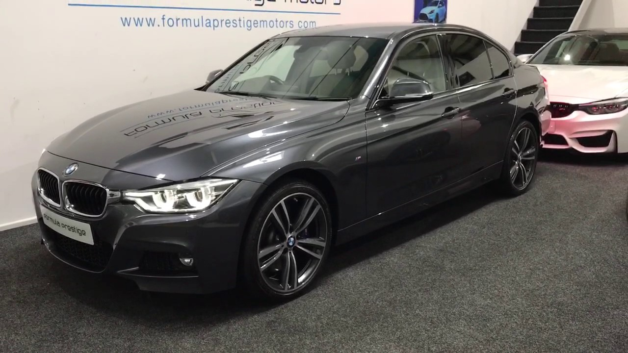 2016 Bmw 335d M Sport Xdrive Saloon In Mineral Grey With