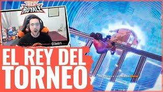 EL REY DEL TORNEO FINAL DE FORTNITE