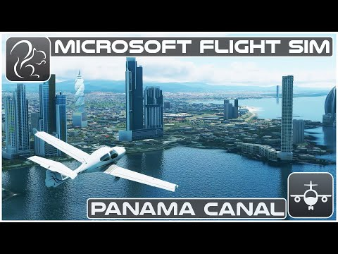 Panama City (Diamond DA40NG) - Microsoft Flight Simulator (MPEJ-MPMG)