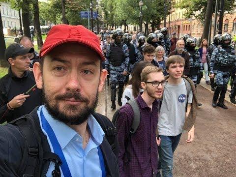 Субботний стрим #17:  Московские протесты-2