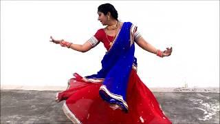 Mere hatho me Nau nau Chudiyan Hain - Dance by Saroj S Khichi