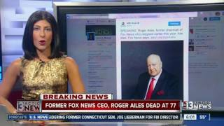 Ex-Fox News CEO Roger Ailes dead at 77