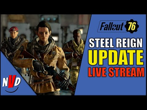 Fallout 76 Steel Reign Update Maintenance with Legendary Crafting