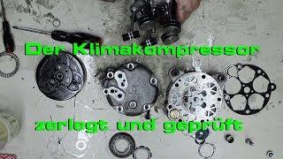Wie funktioniert ein Klimakompressor (VW / Audi - Klimaanlage)