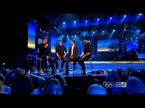 Chris, Ben, Adam and Glenn - With or Without You