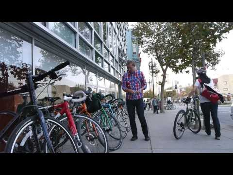 Valet Bicycle Parking by the SF Bicycle Coalition