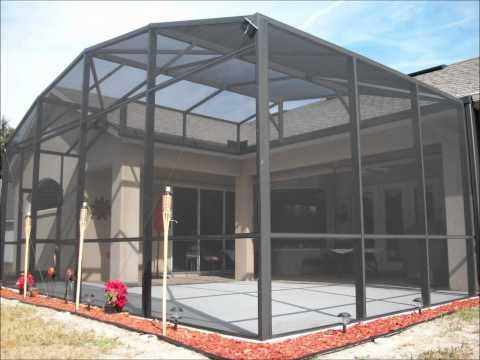 install a screen patio orlando