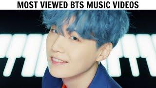 [TOP 40] Most Viewed BTS Music Videos | June 2019