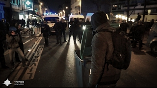 PARIS : MANIFESTATION #JUSTICEPOURTHEO DU 8 FÉVRIER