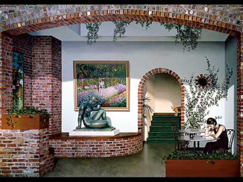 john pugh murals trompe l 39 oeil youtube. Black Bedroom Furniture Sets. Home Design Ideas
