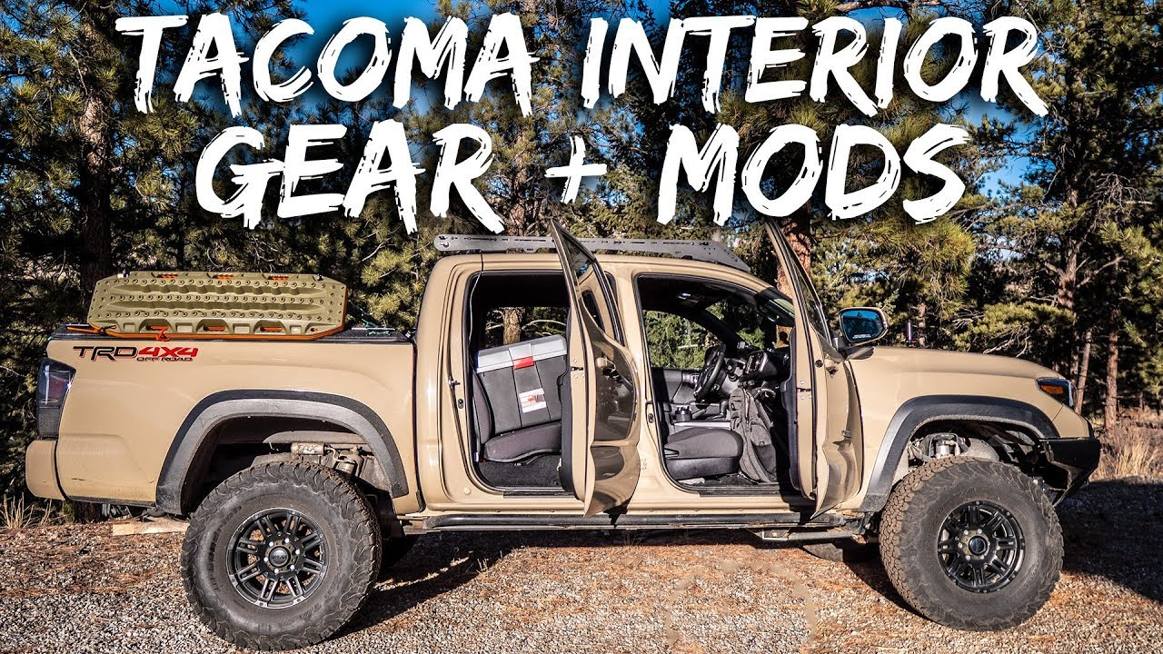 Tacoma Interior Mods And Gear Overland Offroad Daily