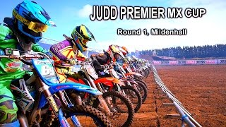 Mx Thunder 2016 Judd Premier Mx Cup Round One Mildenhall Motocross Racing UK