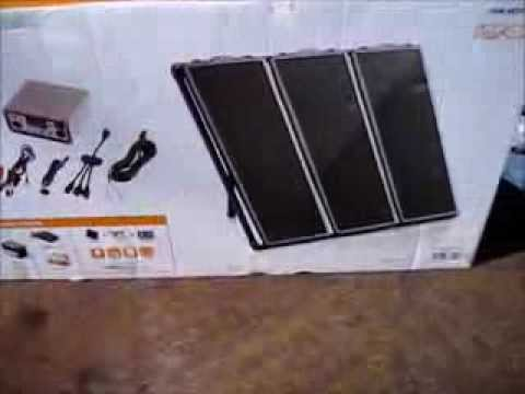 Harbor Freight Solar Panels Kit For The Off Grid Camper