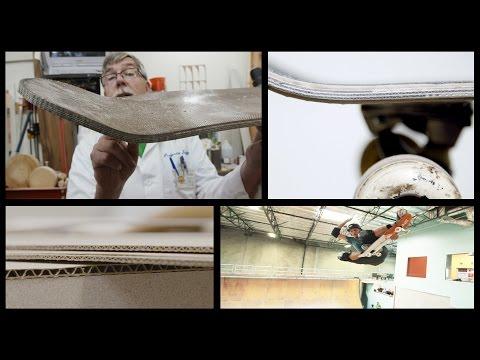 Cardboard Skateboard : featuring Paul Schmitt and Tony Hawk : Cardboard Chaos