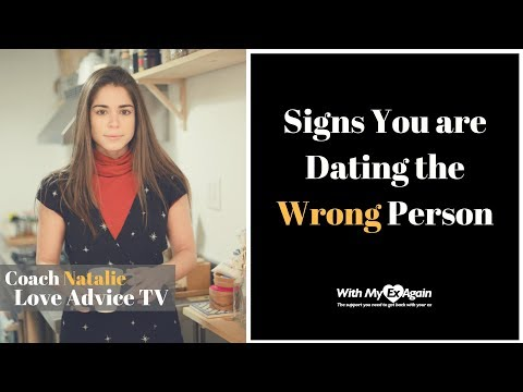 dating someone wrong for you