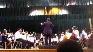 Bell Middle School Advanced Orchestra - The Evil Eye and the Hideous Heart