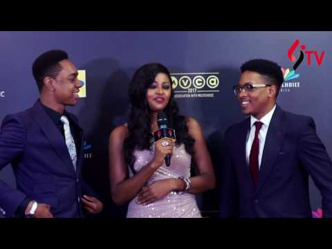 'On The Red Carpet' at the 2017 African Magic Viewer's Choice Awards