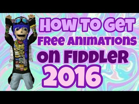 How To Get Free Animations On Fiddler 2016