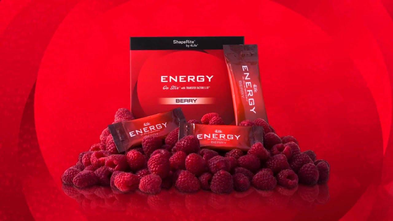 4life Energy Gostix Berry Youtube