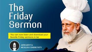 Friday Sermon by His Holiness Mirza Masroor Ahmad (November 29, 2019)