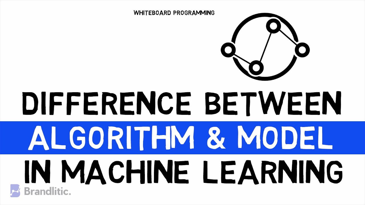Difference Between ML Algorithm and ML Model