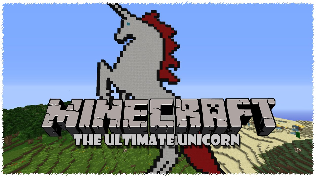 how to get a unicorn in minecraft pe no mods