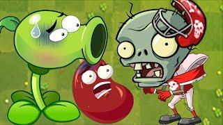 Plants Vs Zombies 2 - BIG HEAD Zombies Pinata Party Vs New Plant Apple Mortar! ( PvZ2)