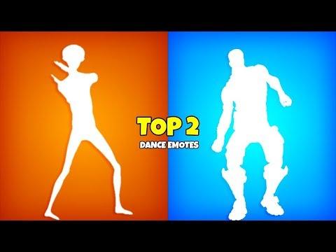 Fortnite Top 2 Dance Emotes..! (Seasons 1-10) Fortnite Battle Royale