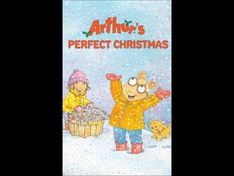 Opening To Arthur Arthur S Perfect Christmas 2000 Vhs Youtube