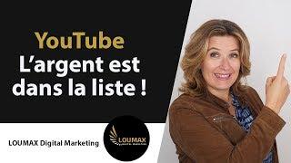 Comment gagner de l'argent sur YouTube 2018 – Stratégie EMAIL
