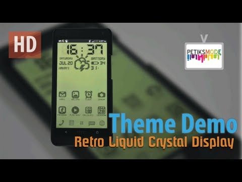 How To Make Retro Display | Smart Launcher For Android mobile