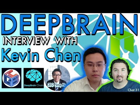 Deepbrain Interview with Kevin Chen for CEO Feng He. Deepbrain talk with BCB