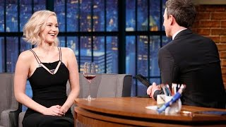 Jennifer Lawrence Reveals Random Celeb Crushes