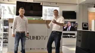 Samsung UE88JS9590 Curved SUHD TV - Unboxing - Thomas Electronic Online Shop