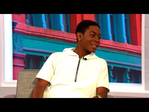 RJ Cyler on Being Homeless