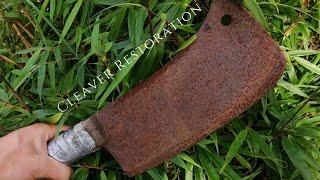 Rusty Cleaver Restoration