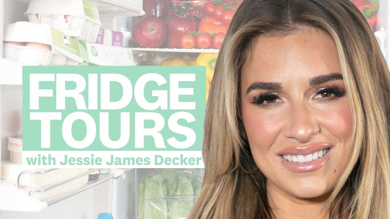 Jessie James Decker's Kids Adorably Crash This Look At Her Groceries | Fridge Tours | Women's Health