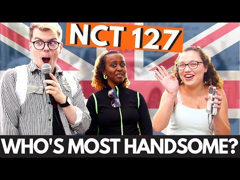 Londoners choose most handsome member of NCT 127
