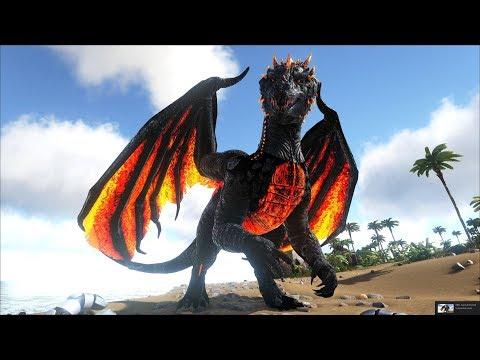 ARK: Survival Evolved (The Island) #8 - Rồng Lửa Alpha Wyvern & Fire Dragon