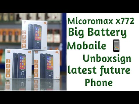 Micromax future phone//x772// unboxing for latest keypad future phone