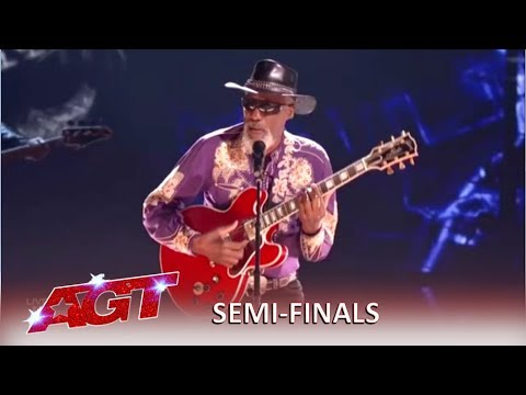 Robert Finley: Blind Soul Singer Pulls Out The Tricks For The Semifinals | America's Got Talent 2019