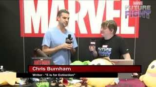Chris Burnham Makes Beast a Women on Marvel LIVE! at San Diego Comic-Con 2015