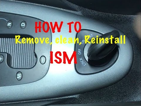 SAAB 93 ignition switch (ISM)