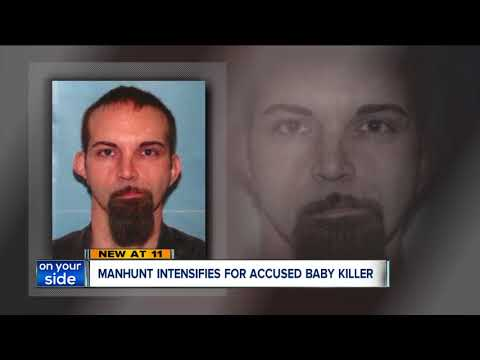 Manhunt intensifies for accused baby killer