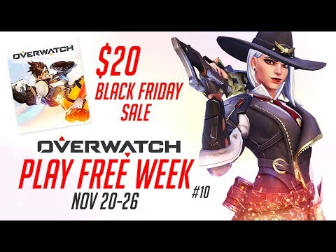Overwatch Free Trial 10 On Xbox One Ps4 Pc 20 Black Friday Sale Youtube